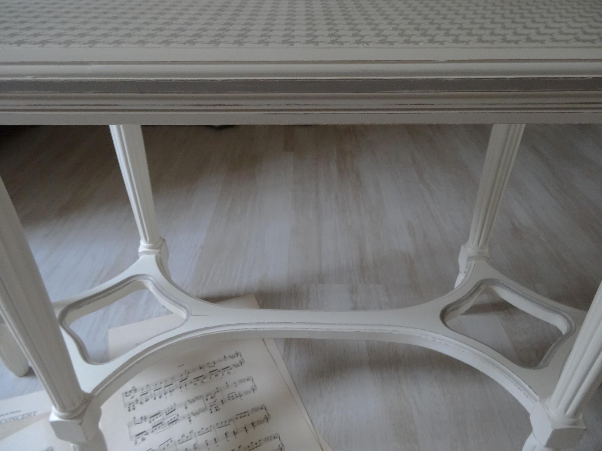 Ancienne Banquette De Piano Relookée Anjoudeco